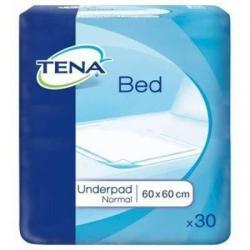 Впитывающие пеленки для взрослых TENA Bed Underpad Normal, 60х60 см, 30 штук