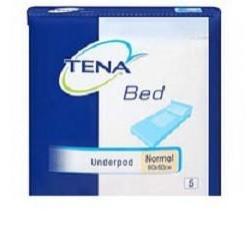Впитывающие пеленки для взрослых TENA Bed Underpad Normal, 60х60 см, 5 штук