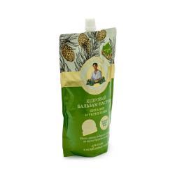 Бальзам-настой для волос Рецепты бабушки Агафьи Кедровый на 5 соках. Питание и укрепление (дой-пак), 500 мл