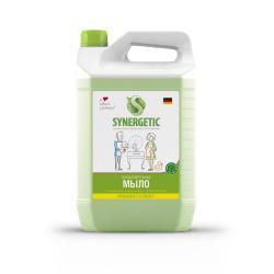 Жидкое мыло биоразлагаемое для мытья рук и тела Synergetic Луговые травы, 5 л