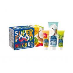Подарочный набор Mix Box (гель-масло для лица, 20 мл + маска-основа для лица, 20 мл + скраб для лица, 80 мл)