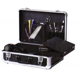 Чемодан для парикмахерских инструментов Dewal, цвет черный, 45x30x16 см